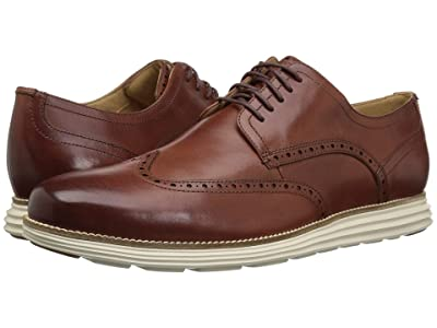 Cole Haan Original Grand Shortwing (Woodbury Leather/Ivory) Men