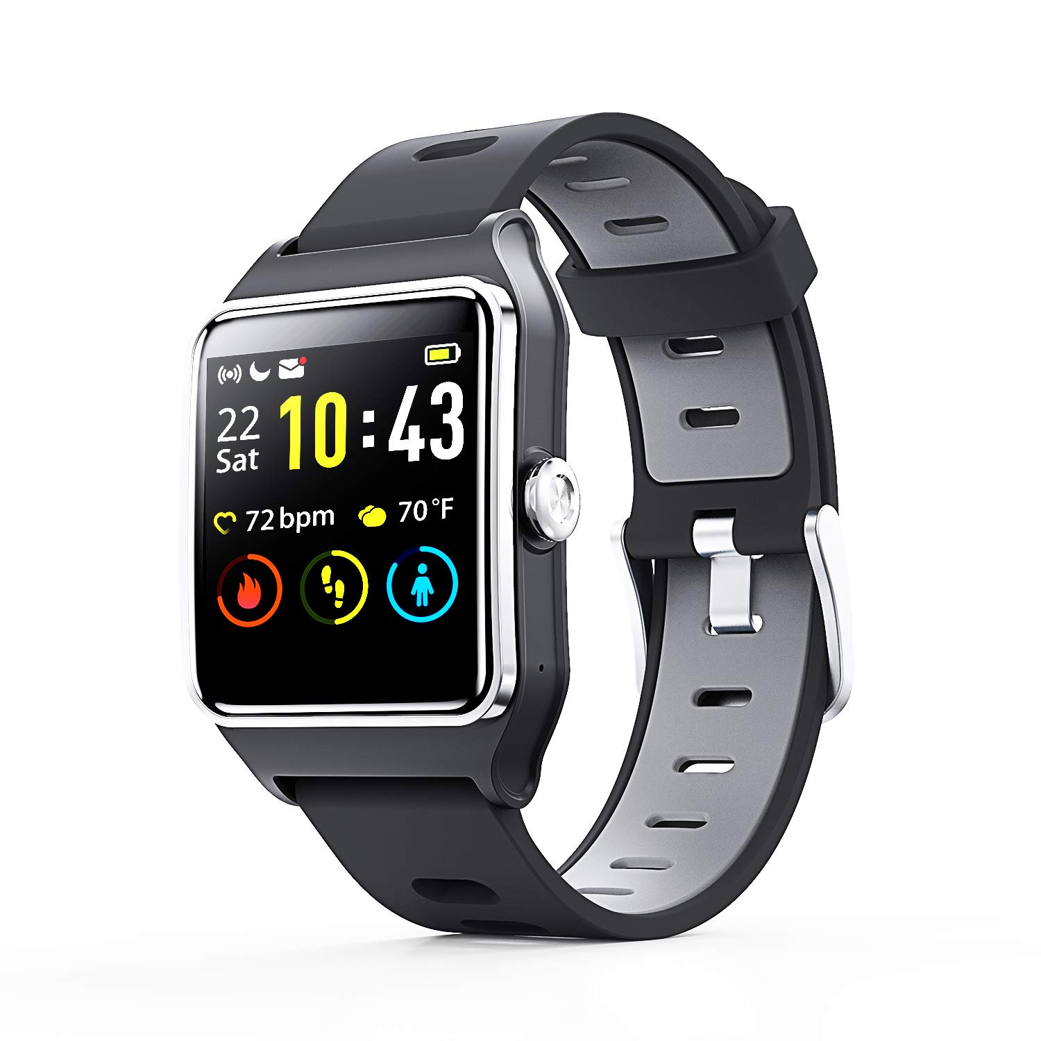 ENACFIRE Waterproof Smartwatch Activity Compatible