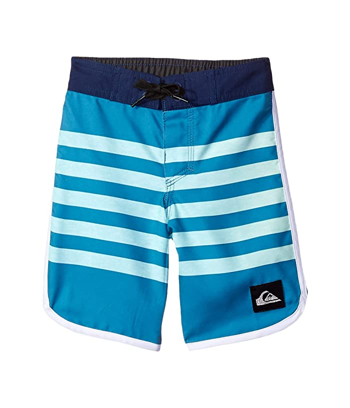 Quiksilver Kids Everyday Grass Roots 14 Boardshorts (Toddler/Little Kids) (Southern Ocean) Boy
