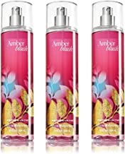 Bath & Body Works Amber Blush Fine Fragrance Mist 8.0 Oz - Pack of 3