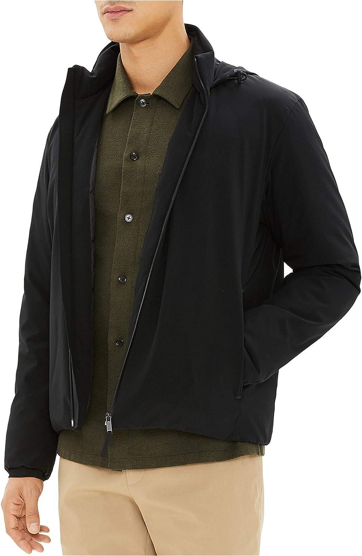 Theory mens Harris Active Nylon Puffer Jacket