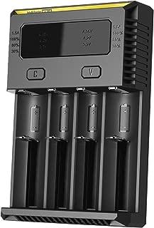 Nitecore New i4 2016 Intellicharger Smart Battery Charger for Li-ion IMR Ni-MH NiCd