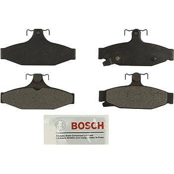 Bosch BE1419A Blue Disc Brake Pad Set for Select 2006-13 Chevrolet Corvette REAR