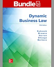 GEN COMBO LOOSELEAF DYNAMIC BUSINESS LAW with CONNECT Access Card