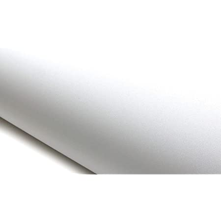 4801-3 2.00 ft X 6.56 ft ROSEROSA Peel and Stick PVC High Glossy Solid Instant Self-Adhesive Covering Countertop Backsplash Black GS418