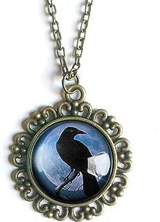 decoupage necklace pendants