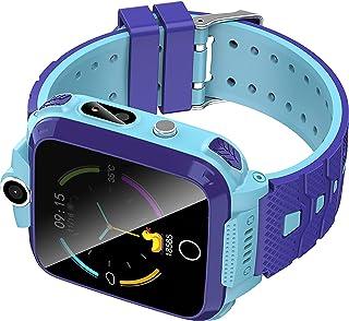 shjjyp Reloj Inteligente NiñO GPS 10 Aios Smartwatch NiñO Impermeable con Lbs GPS Soporte Sos CáMara Juego Pantalla TáCtil...