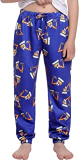 Irevial Pantalones Deportivos para Niños Excavador con Estampado De Dibujos Animados Pantalones para Correr 6-15 Años