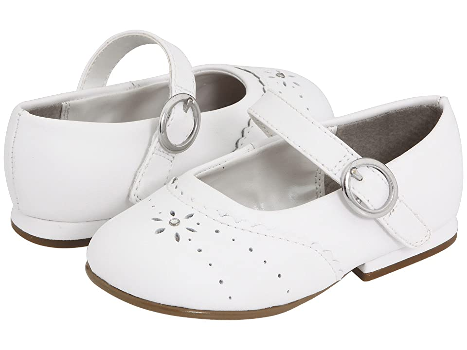 Stride Rite Camila MJ (Toddler) (White) Girl
