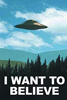 I Want to Believe TV Show Cool Huge Large Giant Poster Art 36x54
