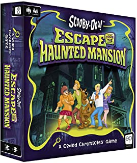 Scooby-Doo: Escape from The Haunted Mansion - A Coded Chronicles Game | Escape Room Game for Kids & Adults | Featuring You...