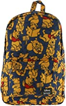 Loungefly x Winnie the Pooh Allover-Print Nylon Backpack (Multicolor, One Size)