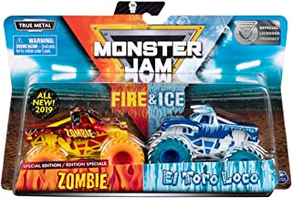 MJ 2019 Monster Jam Fire & Ice Zombie and EL Toro Loco Special Edition