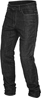 Dainese Denim Mens Motorcycle Riding Jeans Black 38 USA
