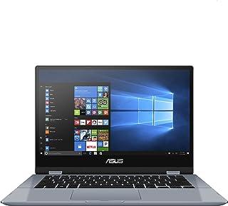 ASUS Vivobook Flip 14 TP412FA-EC403T Laptop (Galaxy Blue) - 2Core Intel Core i3-10110U Processor 2.1GHz, 4GB RAM, 256GB SS...