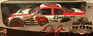 Dale Earnhardt Jr #8 Daytona 500 15 February 2004 Budweiser Born ON Date Win Raced Version 1/24 Scale Revell Select Limited Edition Metal Diecast Body, Plastic Chassis