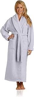 Plush Microfiber Robe - Soft, Warm, and Lightweight - Full Length