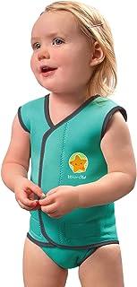 bblüv - Wrap - Warm Neoprene Wetsuit for Baby and Infants (Aqua)
