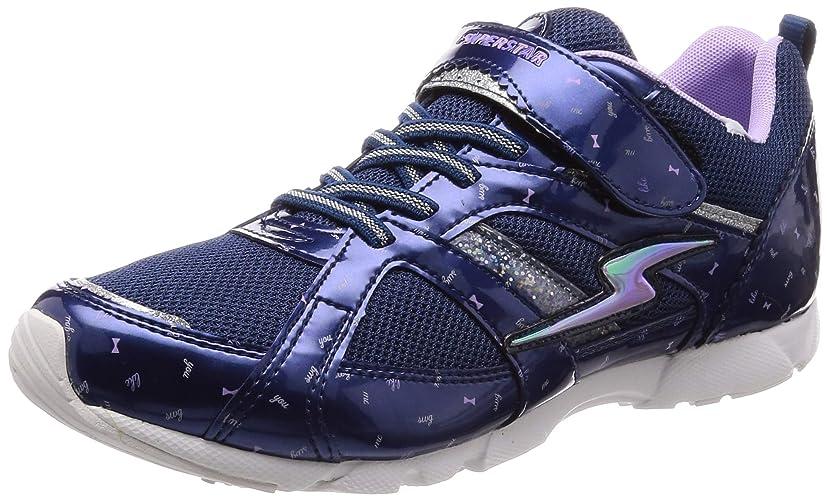 がっかりするポジティブ隙間[スーパースター] 運動靴 マジック 19-25cm(0.5cm有) 2E キッズ 女の子 SS J901WS