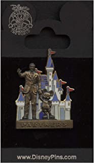 Disney Pin - Partners Statue - Walt Disney and Mickey Mouse - Pin 10848