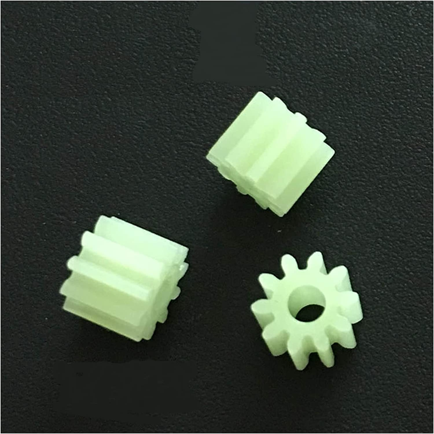 TONGCHAO Tchaogr Max Our shop OFFers the best service 57% OFF 102B 0.5M Gears 10 Loose Teeth 2mm Pom Pl Shaft