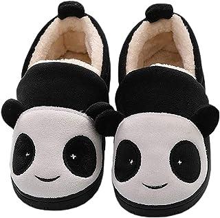 Unitysow Zapatillas de Estar por Casa para Niñas Invierno Zapatillas Interior Caliente Pantuflas Suave Algodón Calentar Za...