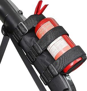 Voodonala for Jeep Fire Extinguisher Holder 3LB Adjustable Mount Strap for 1987-2020 Jeep Wrangler JK JKU JL JLU TJ CJ YJ ...