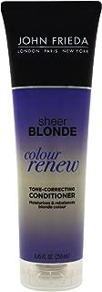 John Frieda Sheer Blonde Color Renew Tone Correcting Conditioner, 8.45 Ounce