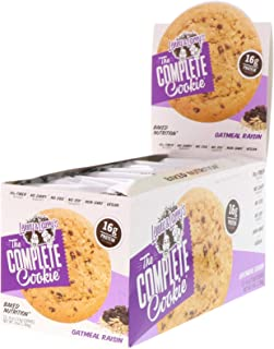 Lenny Larry s The COMPLETE Cookie Oatmeal Raisin 12 Cookies 4 oz 113 g Each