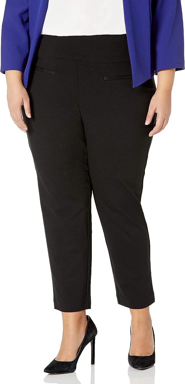 jules & leopold Women's Plus Size Skinny Leg Ponte Pant