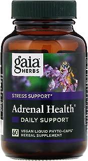 Gaia Herbs, Adrenal Health, Daily Support, 60 Vegan Liquid Phyto-Caps