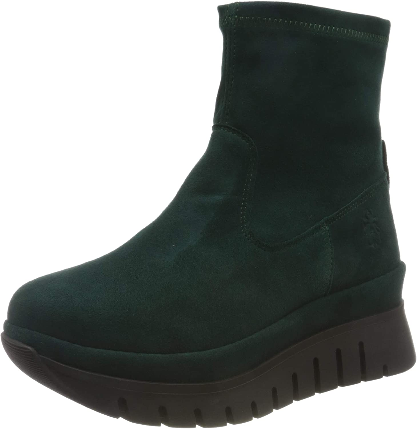 Daily bargain sale FLY LONDON Women's BORK060FLY Max 63% OFF Ankle 2 Boot Green Forest