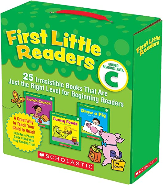 First Little Readers Parent Pack Guided Reading Level C 25 Irresistible Books That Are Just The Right Level For Beginning Readers