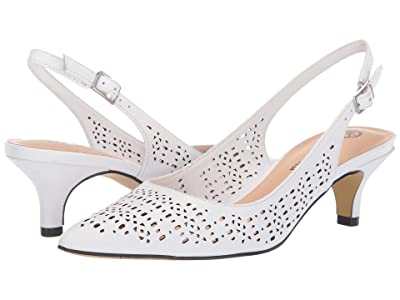 Bella-Vita Sybil (White Leather) Women