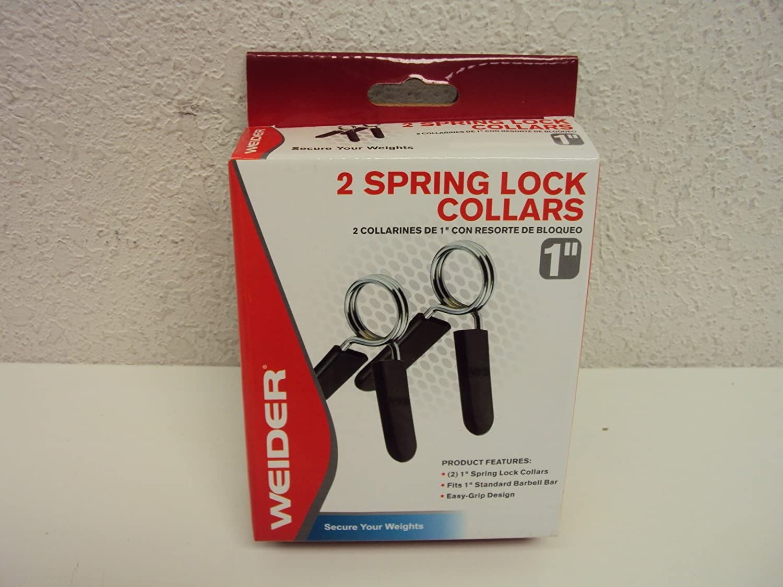 Weider Two 1 Spring Lock Collars