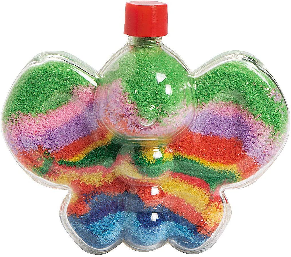 Butterfly Bombing free shipping Sand Art Bottles - Crafts for Kids Fun Activi Indianapolis Mall Home and