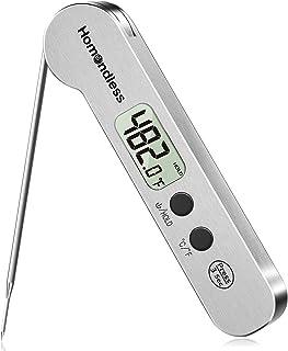 ميزان حرارة مطور 2021 للحوم ، مقياس حرارة رقمي فائق السرعة لطهي الطعام من الفولاذ المقاوم للصدأ سريع القراءة ، IP67 مقاوم ...