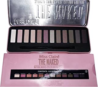 Miss Claire The Naked Natural Nude 12 Color Eyeshadow Palette (Set 2)