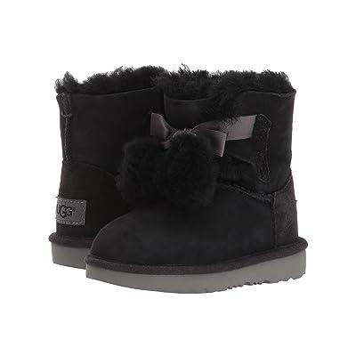 UGG Kids Gita (Toddler/Little Kid) (Black) Girls Shoes