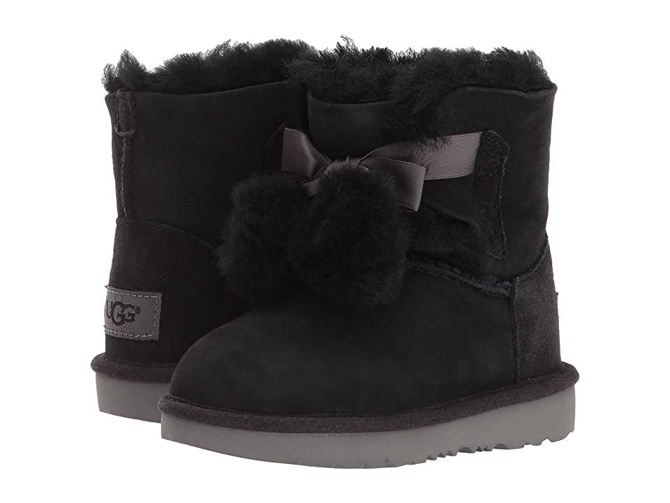 UGG Kids Gita (Toddler/Little Kid) (Black) Girls Shoes