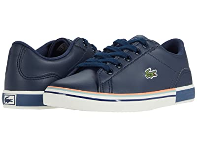 Lacoste Kids Lerond 0320 1 CUC (Little Kid) (Navy/Off-White) Kid