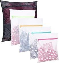 Set of 5 Mesh Laundry Bags-1 Extra Large, 2 Large & 2 Medium Bags Laundry,Blouse, Hosiery, Stocking, Underwear, Bra Linger...