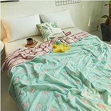 Uozzi Bedding 6 Layers of 100% Hypoallergenic Muslin Cotton Premium Toddler Blanket Summer Quilt/Throw Blanket for Teens, ...