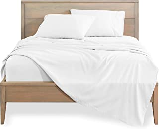 Bare Home Twin XL Sheet Set - College Dorm Size - Premium 1800 Ultra-Soft Microfiber Sheets Twin Extra Long - Double Brush...