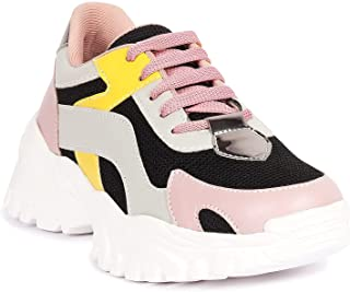 ZAPATOZ Women's Stylish Lightweight   Casual Shoes   Sneakers