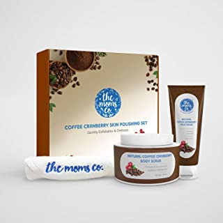 The Moms Co. Coffee Cranberry Skin Polishing Set - For Smooth and Healthier Skin