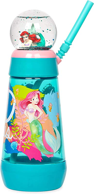 Disney Ariel Snowglobe Tumbler With Straw