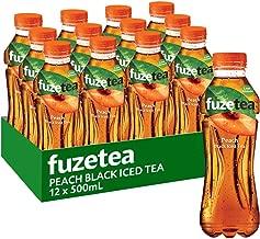 Fuze Peach Black Iced Tea Bottle, 12 x 500 ml