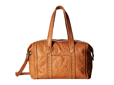 Day & Mood Penny Satchel (Cognac) Satchel Handbags
