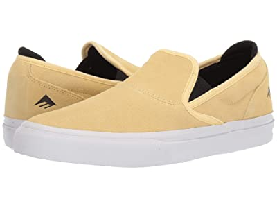 Emerica Wino G6 Slip-On (Yellow/White) Men